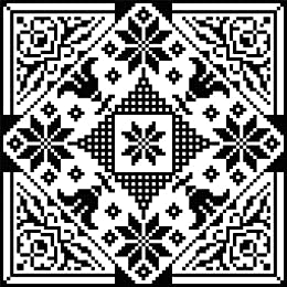 Tulips and Poinsettias: Winter Bloom in Filet Crochet