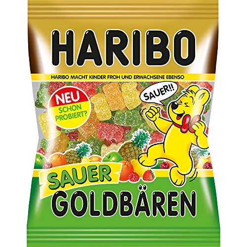 Haribo Goldbären Sauer (Gold Bears Sour) 200g