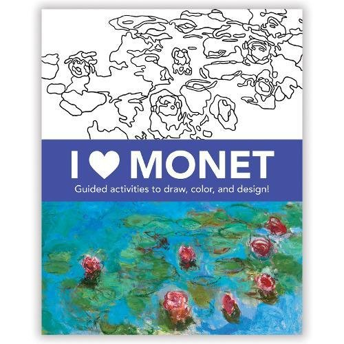 I Heart Monet Activity Book