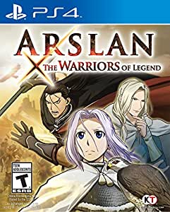 Tecmo Koei Arslan The Warriors Of Legend Playstation 4