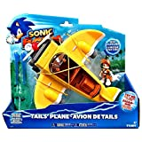 SEGA Sonic Boom Tails' Plane Launcher with Sonic and Tails