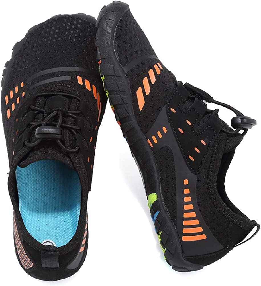 Toddler//Little Kid//Big Kid EQUICK Kids Water Shoes Boys /& Girls Kids Aqua Shoes Swim Shoes Athletic Sneakers Lightweight Sport Shoes