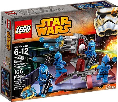Lego Star Wars senate-Commando Trooper 75088 (Star Wars Lego Set Battle)