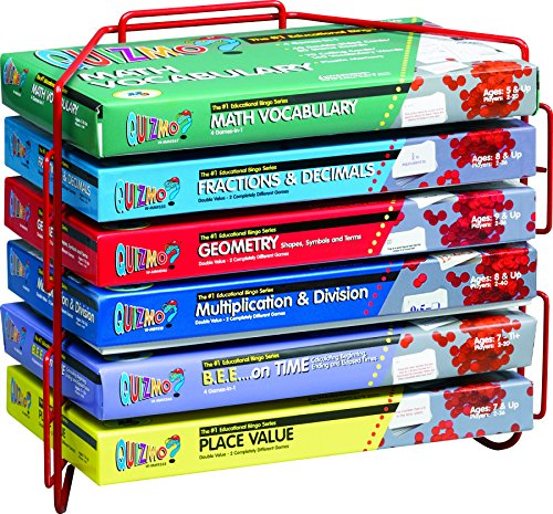 Learning Advantage 8280 Quizmo Math Game Series, Intermediate Plus, Grade: 3 to (Math Game Series)