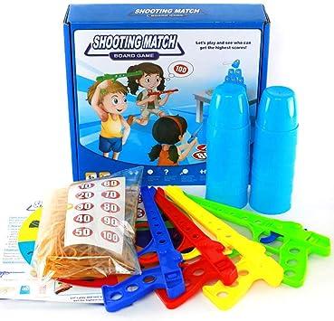 LCY Juguetes Educativos para Niños Juegos De Mesa para Niños Brainpower Cerebro Juguetes De Respuesta Rápida para Niños De Disparo Juguetes: Amazon.es: Deportes y aire libre