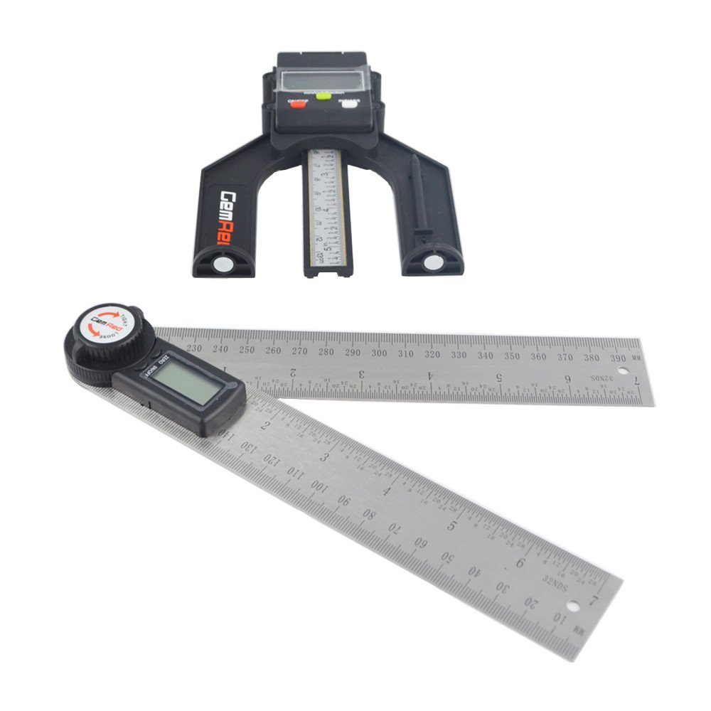 "12/"" Goniometer GemRed Digital Orthopedic Protractor Angle Finder New"
