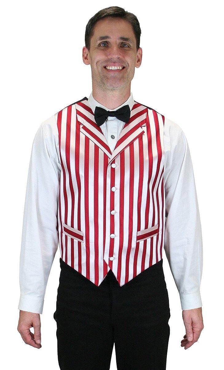 Historical Emporium Men's Striped Ragtime Dress Vest at Amazon ...