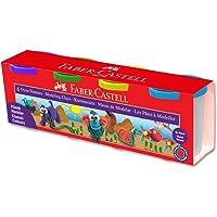 Faber-Castell 5170120042 Su Bazlı Oyun Hamuru, 4 Renk