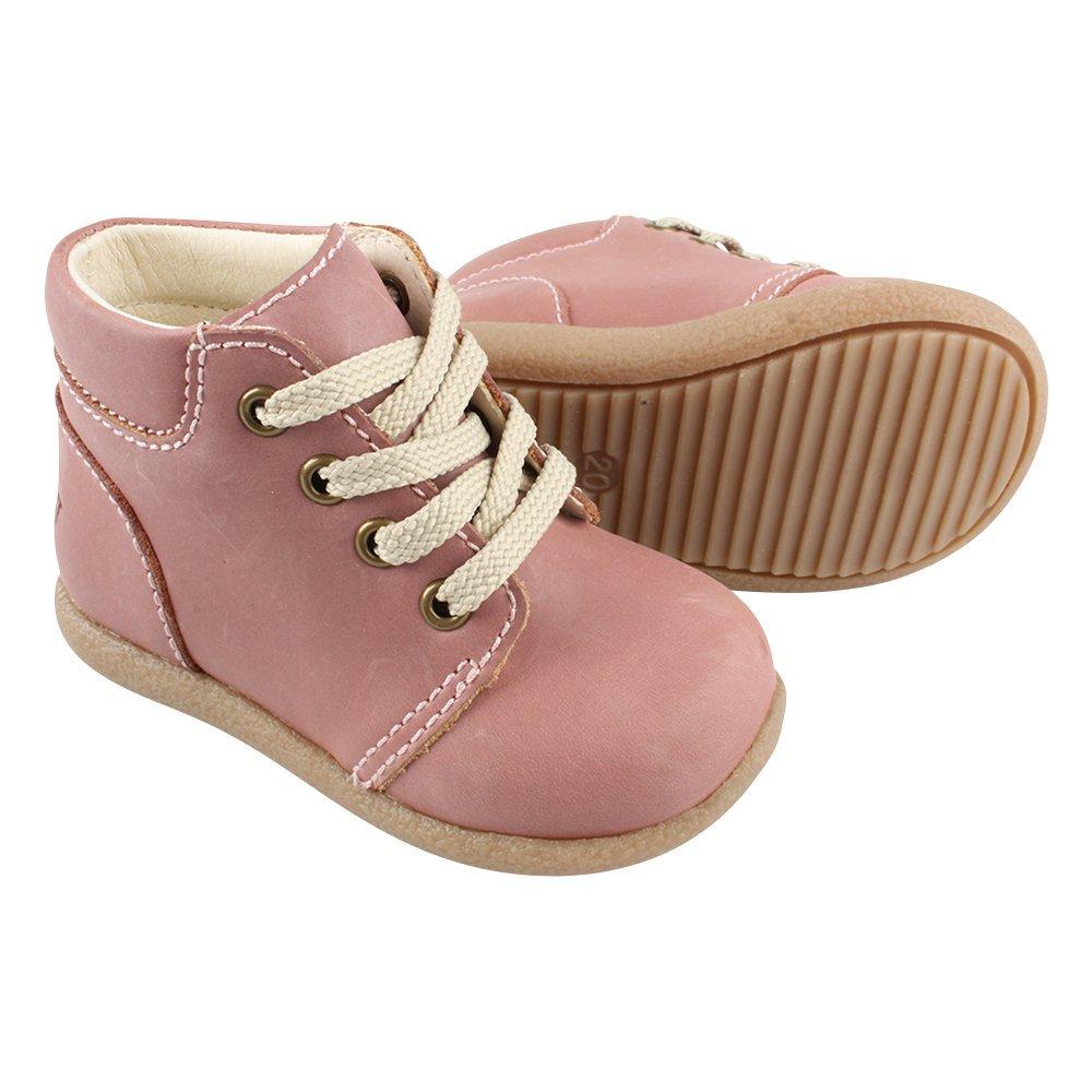 EN FANT Mädchen Beginner Shoe Lace Bootschuhe, Silber (Silver 01), 24 EU