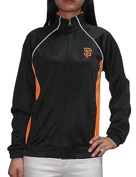 MLB gigantes de San Francisco para mujer con cremallera chaqueta ...