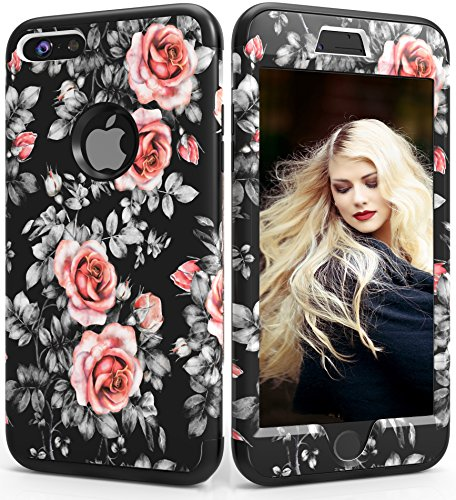 iPhone 6 Plus Case,iPhone 6s Plus Case,ADCOOG Three Layer Heavy Duty Shockproof Case Hybrid Protective Cover Case for iPhone 6 Plus/6s Plus