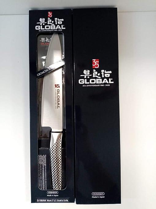 Global GS-96/AB - Cuchillo de cocina (19 cm), color plateado ...