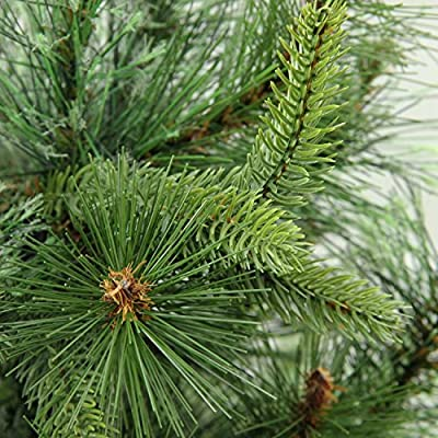 "Northlight 3' x 29"" Cashmere Mixed Pine Full Artificial Christmas Tree - Unlit"