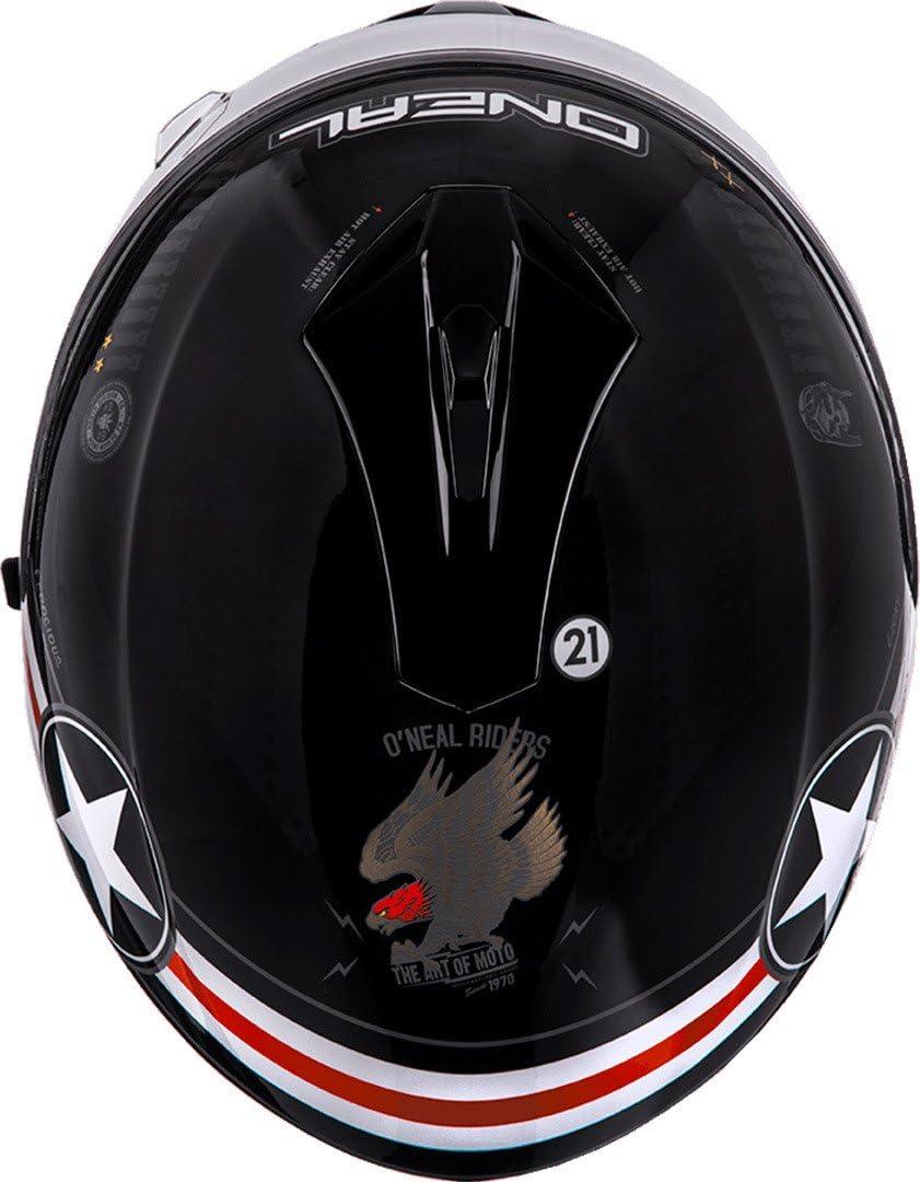 53-54cm Gr/ö/ße XS ONEAL Challenger Fidlock Wingman Enduro MX Motorrad Helm schwarz//wei/ß 2020 Oneal