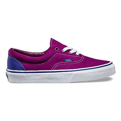 Era Heel Pop Skateboarding Shoe Magenta Purple/Clematis Blue Size: 3.5 Men / 5 Women