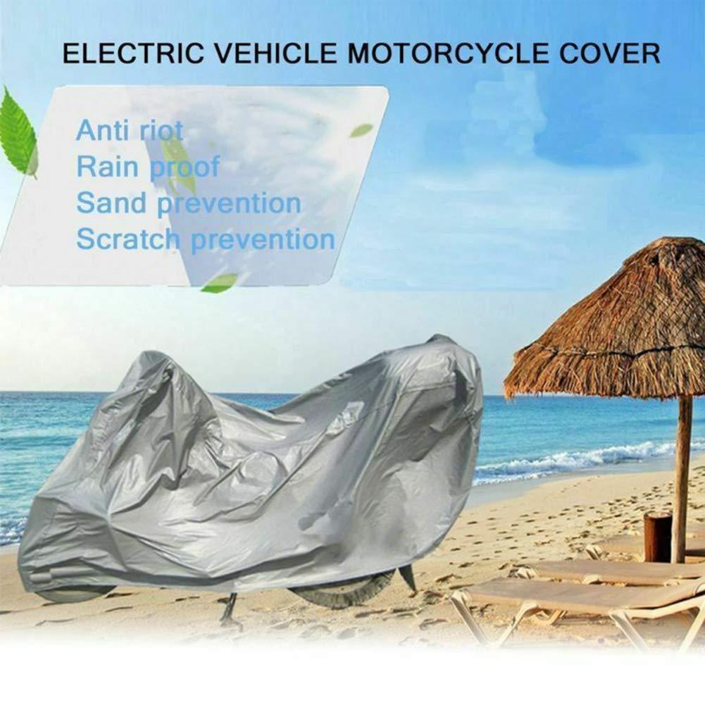 GCDN Coprimoto Moto Antipolvere Universale Protettivo Impermeabile Pieghevole Snow Shell Scooter Indoor Impermeabile Bicicletta Elettrica UV S