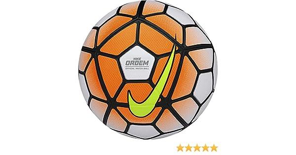 Nike SC2714 - Balón de fútbol, color naranja / blanco / amarillo ...