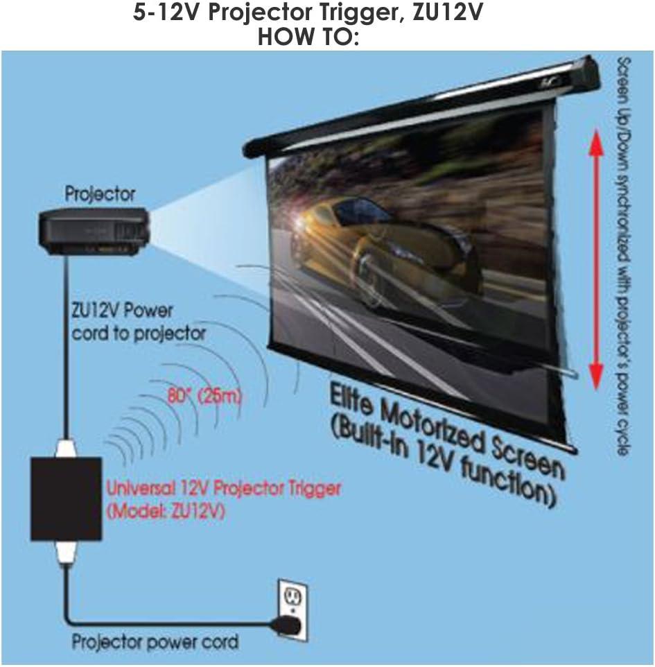 Elite Screens ZU12V Accesorio de proyector: Amazon.es: Electrónica