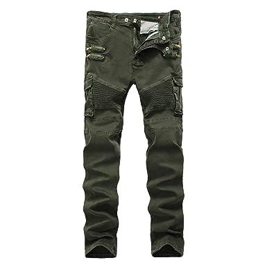 la meilleure attitude remise spéciale de bonne texture Laisla fashion Pantalon Cargo Homme Robuste avec Poche Multi ...