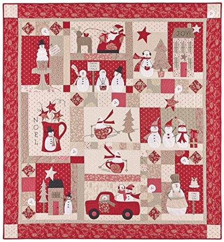Bunny Hill Designs MERRY MERRY SNOWMEN BHD2035 9 Month BOM Pattern Set ()