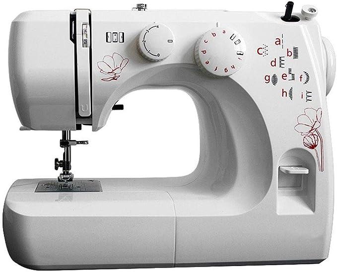 Máquina de coser pequeña, 11 patrones de puntada, Máquina de coser ...