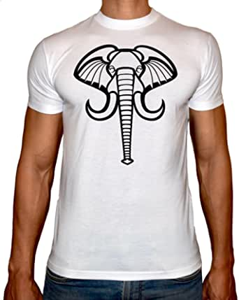Fast Print Round Neck T-Shirt For Men - - 2724724791966