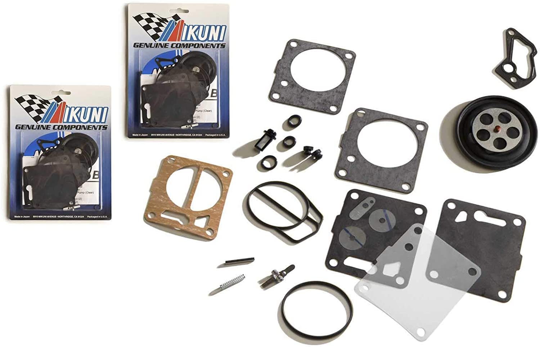 Genuine Mikuni Dual Carb Carburetor Rebuild Kit Seadoo 951 XP GSX GTX RX LRV
