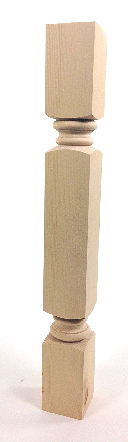 "Meridian Dining Table Leg - 29"" Tall x 3 1/2"" Wide (Pine)"