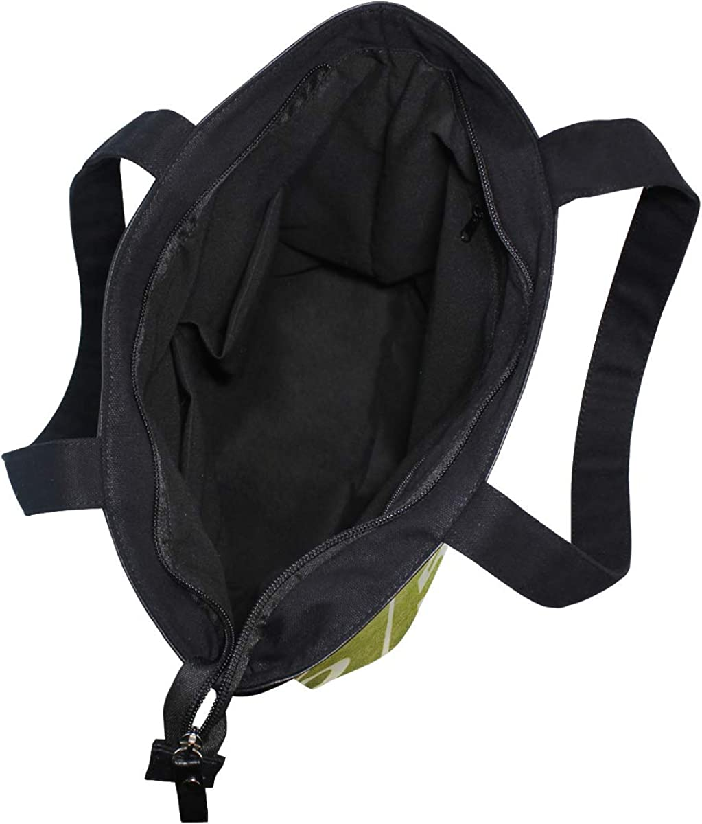 Tote Bag American Football Stadium Casual Lightweight Zip Canvas Hand Bag Top Handbag For Women Girl