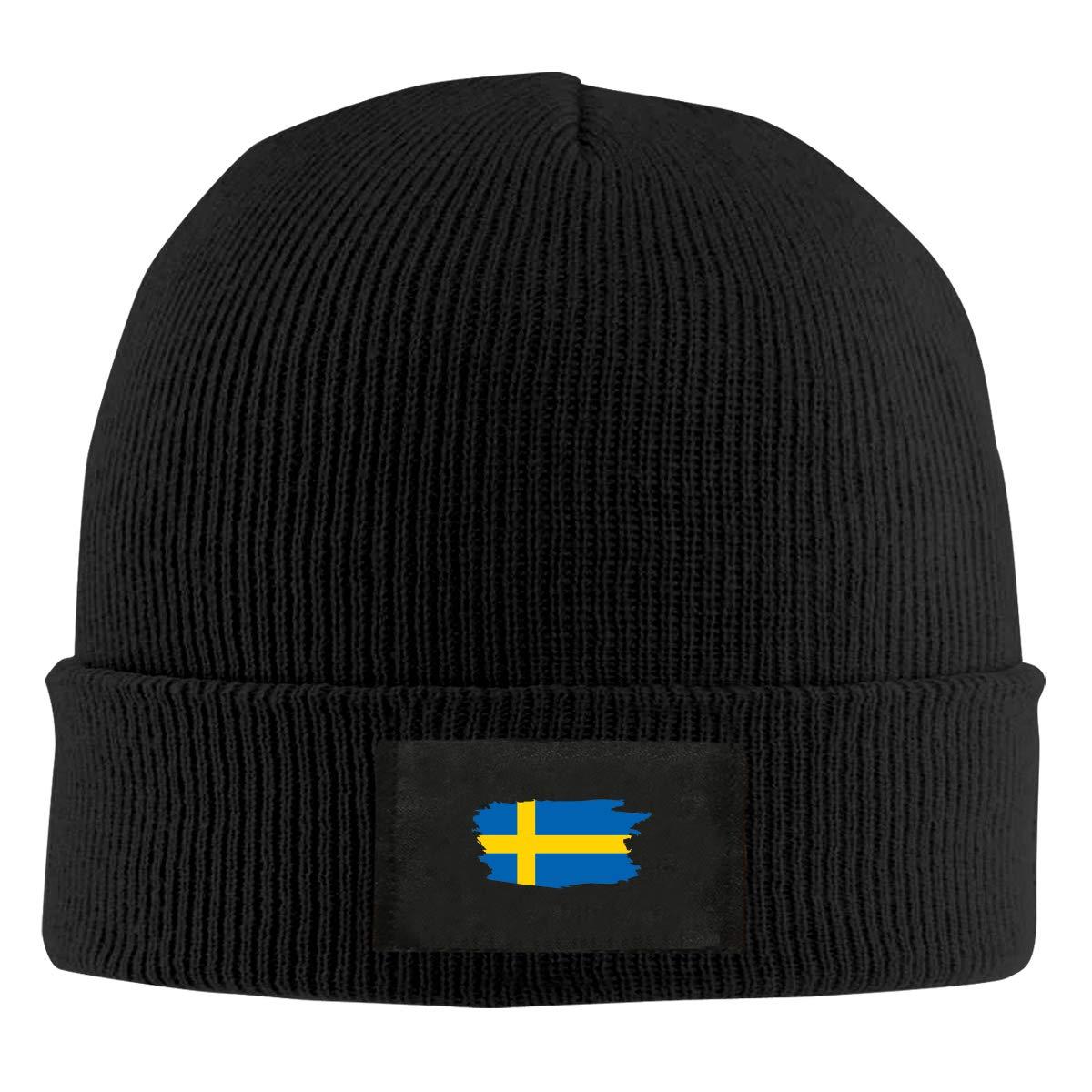 Xdinfong Swedish Flag Winter Beanie Hat Knit Hat Cap for Men /& Women
