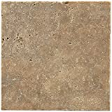 Dal-Tile T3111616TS1P- Travertine Tile, Noce Tumbled