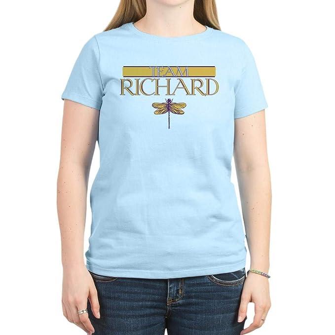 ec88b24fd CafePress Team Richard Women's Light T-Shirt Womens Cotton T-Shirt, Crew  Neck