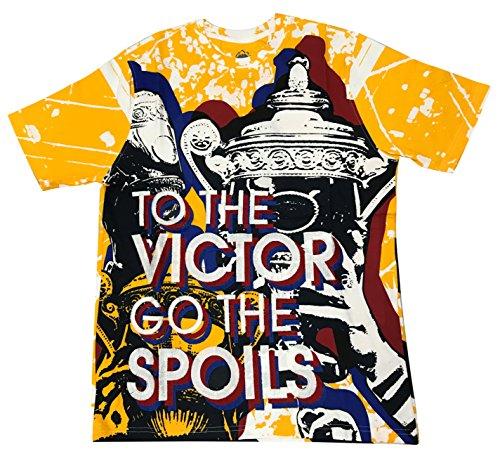 Born Fly Poseidon T-Shirt (Yellow, L) (Born Fly Clothing)