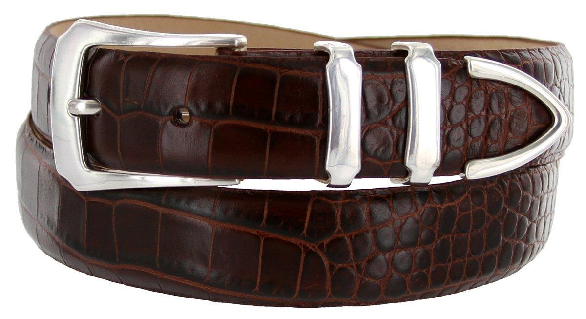 Belts.com ACCESSORY メンズ B00D6WI5BA 44 ブラウン(Alligator Brown) ブラウン(Alligator Brown) 44