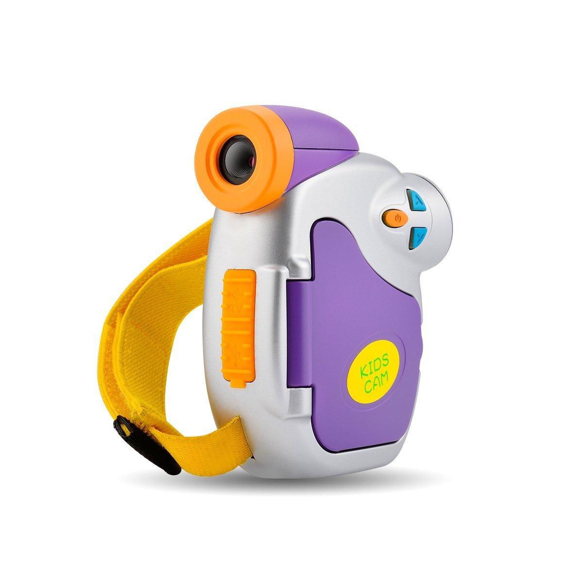 Powpro Kids Camera, Pro DVC-7CAM Kids Digital Video Camera with Ergonomic Design