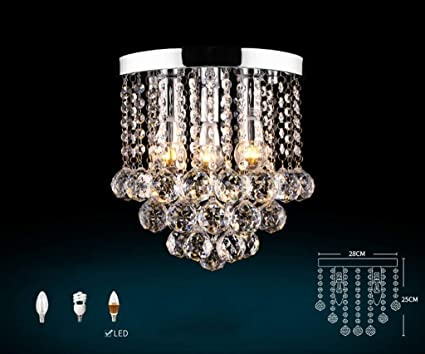 Plafoniere Cristallo E Acciaio : Hhgold luxury k da lampadari di cristallo gocce pioggia