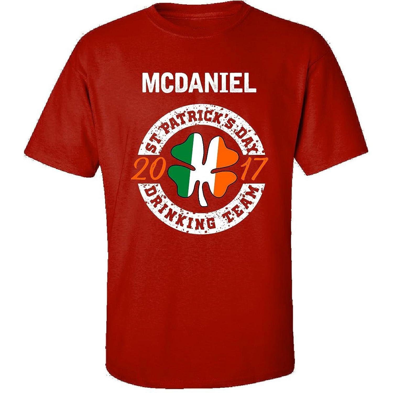 Mcdaniel St Patricks Day 2017 Drinking Team Irish - Adult Shirt