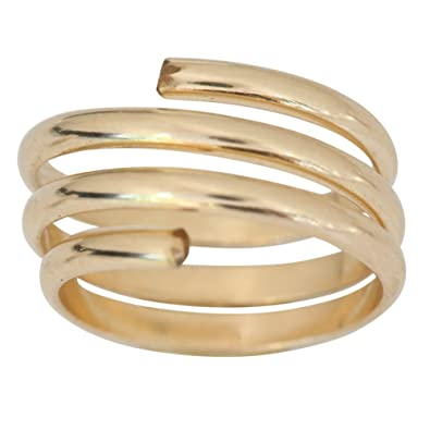 Amazon 14k Gold Filled Wire Wrap Yoga Coil Adjustable Toe
