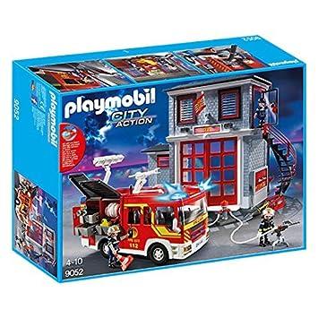 Playmobil 9052 City Action Feuerwehr 9052 Amazon De Spielzeug