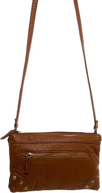 Light Brown Purse The Danni Crossbody Vegan Leather Shoulder Bag Satchel Tote