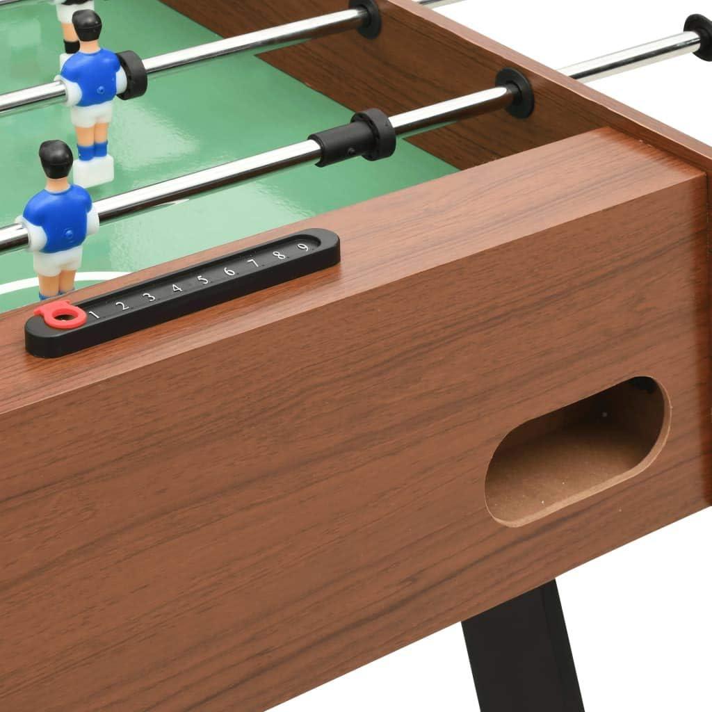 Festnight - Futbolín Plegable de Color marrón, para casa, fútbol ...