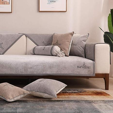 RenshenX Funda de sofá Microfibra - Protector Antideslizante ...
