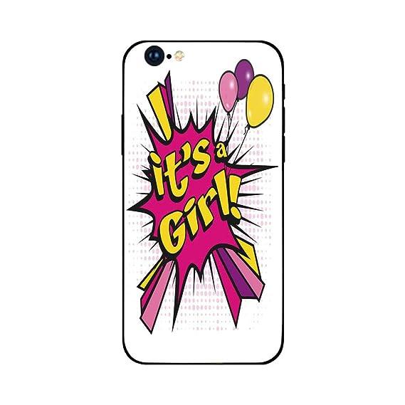 Girl cell phone strip