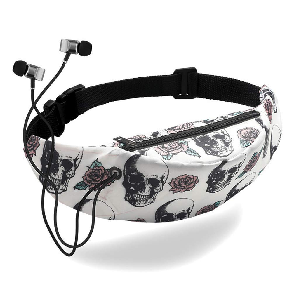 HighlifeS Waist Pack Colorful Waist Hobos bag Waterproof Travel Fanny Fashion Pack Mobile Phone Waist Pack Belt Bag (I)