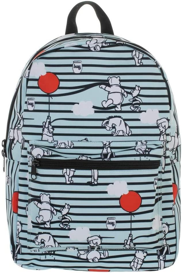 Winnie the Pooh AOP Sublimated Laptop Backpack