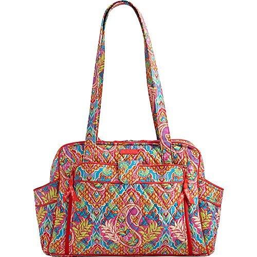 Vera Bradley Women's Stroll Around Baby Bag Paisley In Paradise Diaper Bag - Paisley Stroller Bag