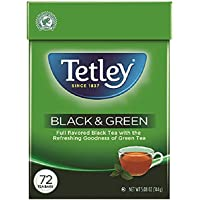 72-Count Tetley Tea Bags (Black and Green)