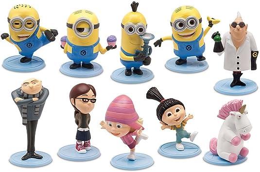 Despicable Me Minions Movie Minions Mini Figurines 10-Piece Set Exclusive 2 Think Way