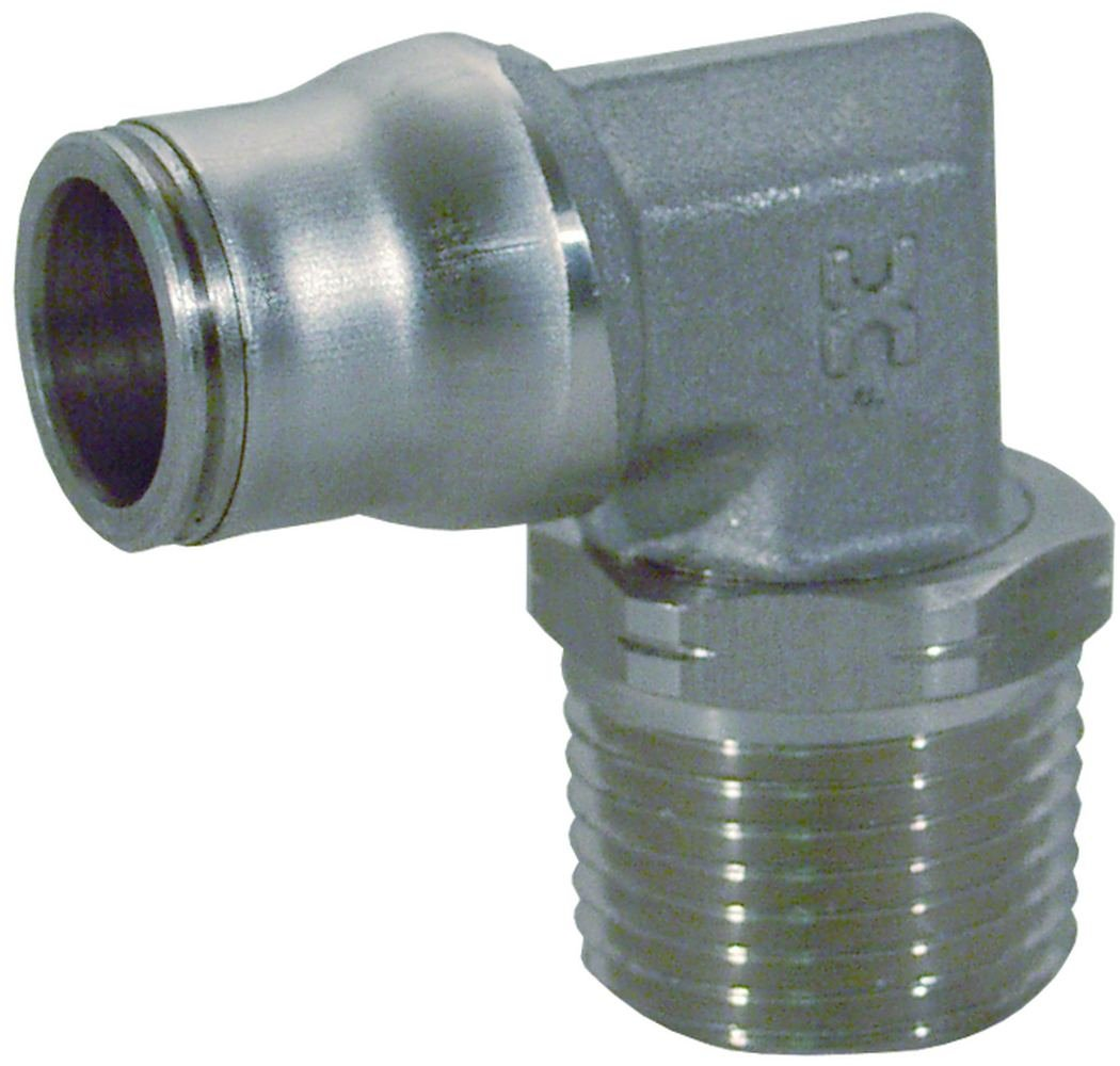 Dixon Stainless Steel Legris Stainless Steel Push-In Male Swivel Elbow