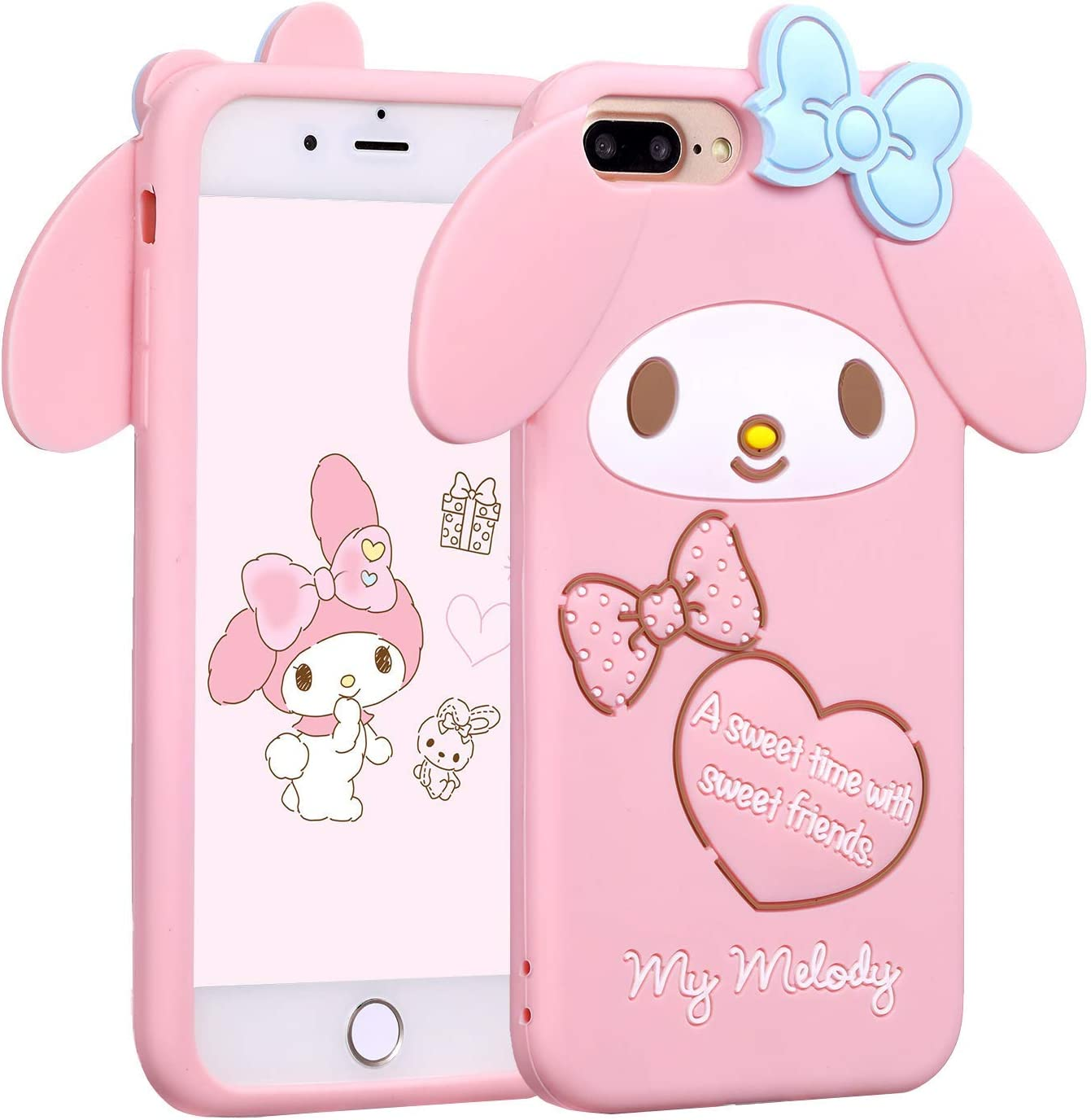 iPhone 10 X Punky Pins iPhone 678 Plus Dark Doodle Cats Soft Shell Phone Case  Kawaii Cat Illustration Apple iPhone 678